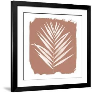 Nature by the Lake - Frond III Warm Sq by Piper Rhue