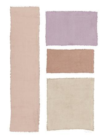 Painted Weaving III on White Blush by Piper Rhue