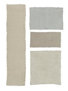 Painted Weaving III on White by Piper Rhue