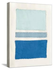 Painted Weaving V Pacific Blue by Piper Rhue