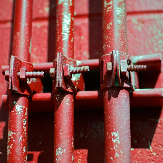 Pipes Square II-Gail Peck-Photographic Print