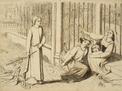 Pippa Passes, 1854-Elizabeth Eleanor Siddal-Giclee Print
