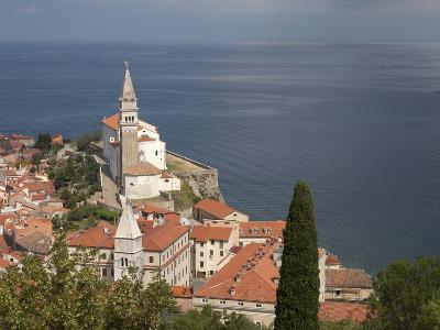 Piran, Istria, Adriatic Coast, Slovenia, Europe-Angelo Cavalli-Photographic Print