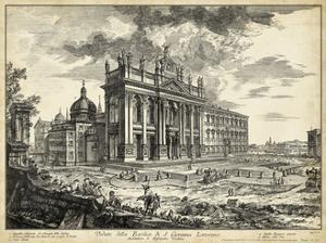 Veduta della Basilica di S. Giovanni Laterano by Piranesi