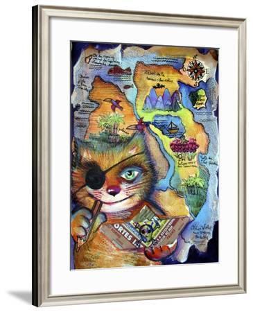 Pirat-Oxana Zaika-Framed Giclee Print