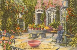 Pirate House Garden, Charleston, South Carolina