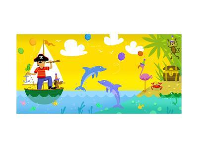 Pirate Treasure--Art Print