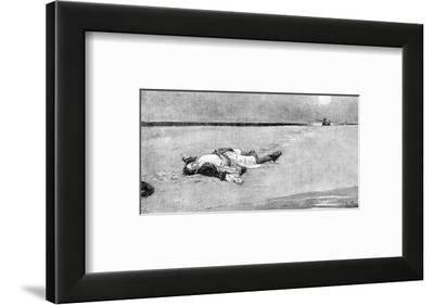 Pirates Used to Do That to Their Captains Now and Then-Howard Pyle-Framed Premium Giclee Print