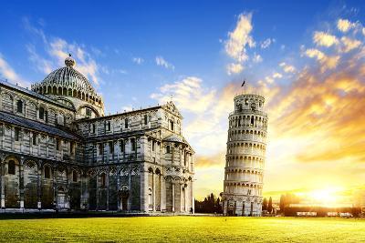 Pisa City-vent du sud-Photographic Print