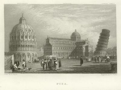 Pisa-Samuel Prout-Giclee Print