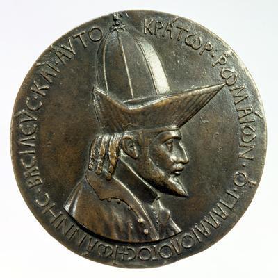 Medal of John VIII Palaeologus, Byzantine, C1440