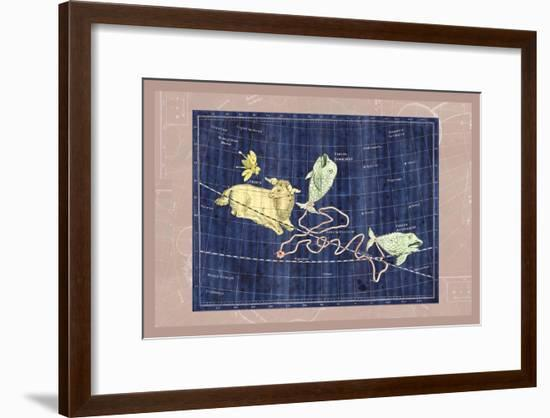 Pisces and Aries--Framed Art Print