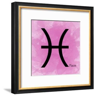 Pisces - Pink-Veruca Salt-Framed Art Print