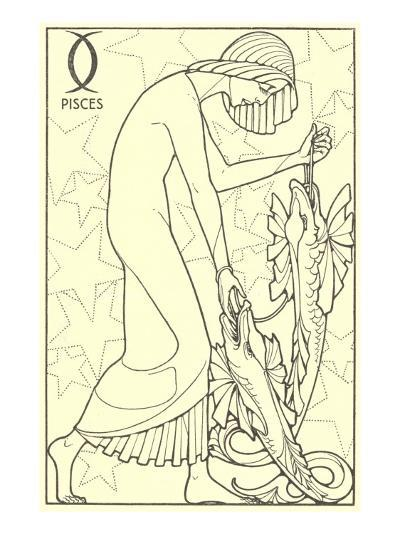 Pisces, the Fishes--Art Print