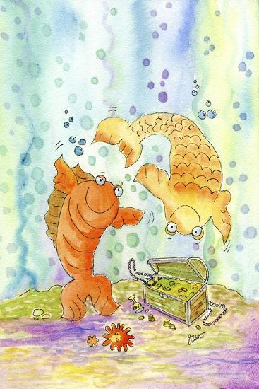 Pisces-Jennifer Zsolt-Giclee Print