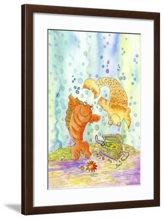 Pisces-Jennifer Zsolt-Framed Giclee Print