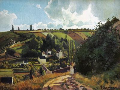 Pissarro: Jallais, 1867-Camille Pissarro-Giclee Print