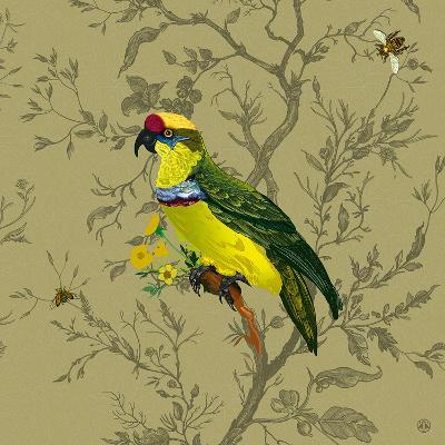 Pisticule Parrot-Timorous Beasties-Art Print