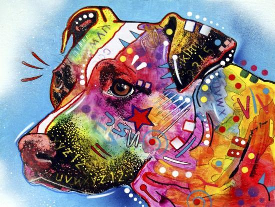 Pit Bull 1059-Dean Russo-Giclee Print