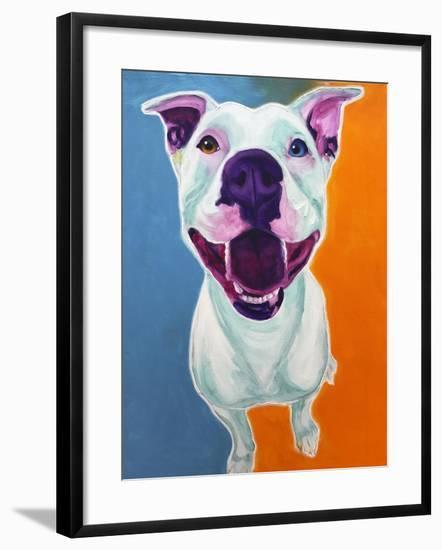 Pit Bull - Angel-Dawgart-Framed Giclee Print