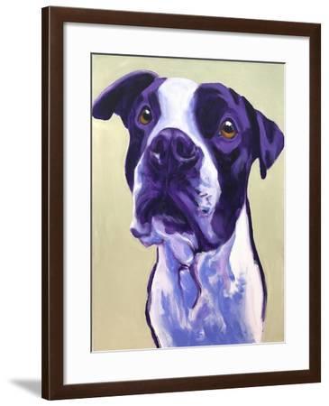 Pit Bull - David-Dawgart-Framed Giclee Print