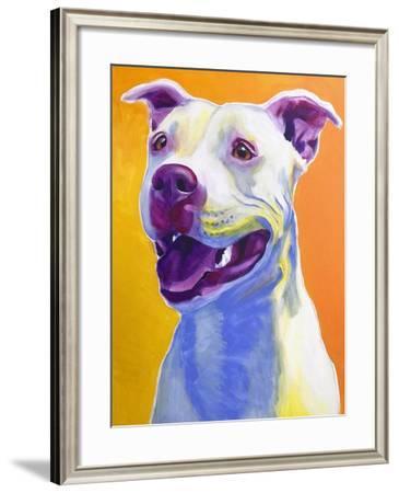 Pit Bull - Honey-Dawgart-Framed Giclee Print