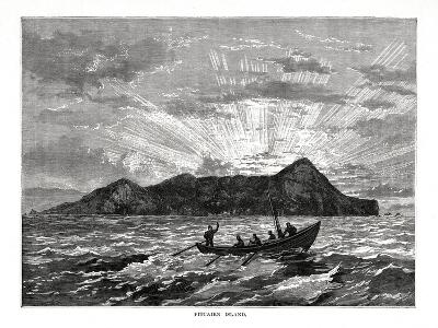 Pitcairn Island, Pacific Ocean, 1877--Giclee Print