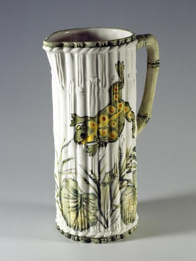Pitcher with Painted Frog--Giclee Print