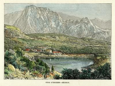 Piton D' Enchein, Reunion, C1880-Taylor-Giclee Print