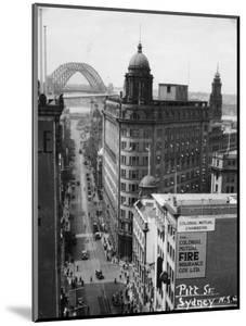 Pitt Street, Sydney, New South Wales, Australia, 1945