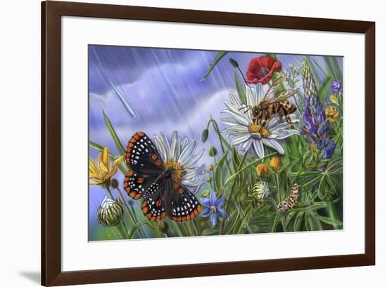 Pitter And Patter Spread 10-Cathy Morrison Illustrates-Framed Giclee Print