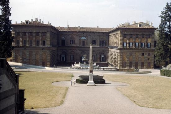 Pitti Palace and the Boboli Gardens in August, Florence, Italy, c20th century-Unknown-Photographic Print