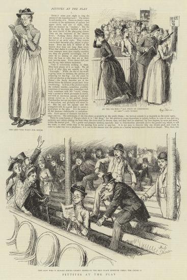Pittites at the Play-Hugh Thomson-Giclee Print