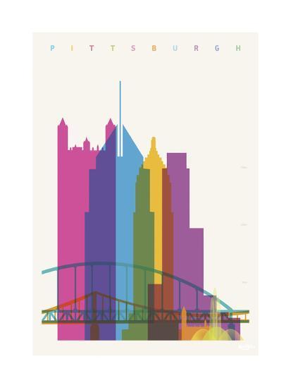 Pittsburgh-Yoni Alter-Giclee Print