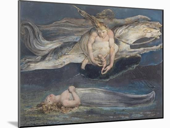 Pity-William Blake-Mounted Giclee Print