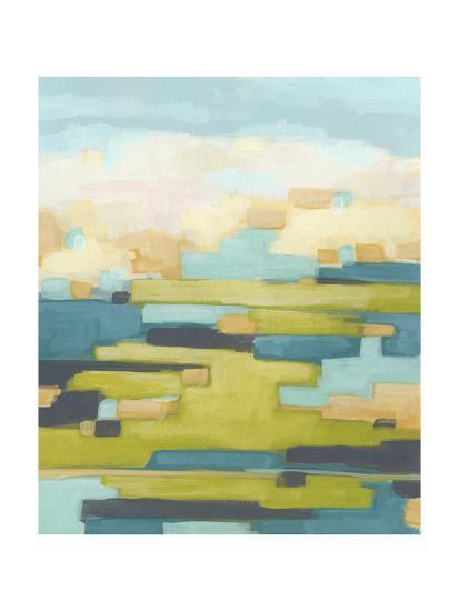 Pixel Horizon I-June Vess-Art Print