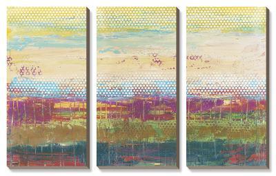 Pixel Plane-Jennifer Goldberger-Canvas Art Set