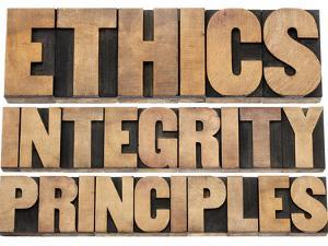 Ethics, Integrity and Principles Word Abstract by PixelsAway