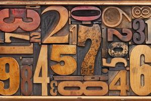 Number Abstract by PixelsAway