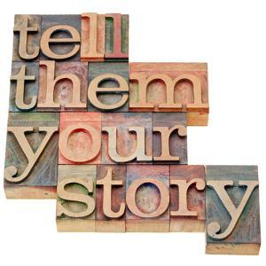 Tell Them Your Story by PixelsAway