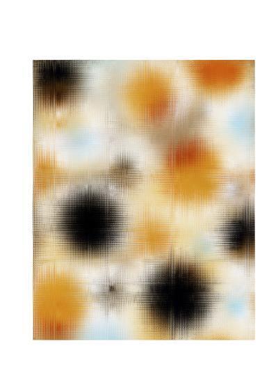 Pixilated Burst II-Ricki Mountain-Art Print