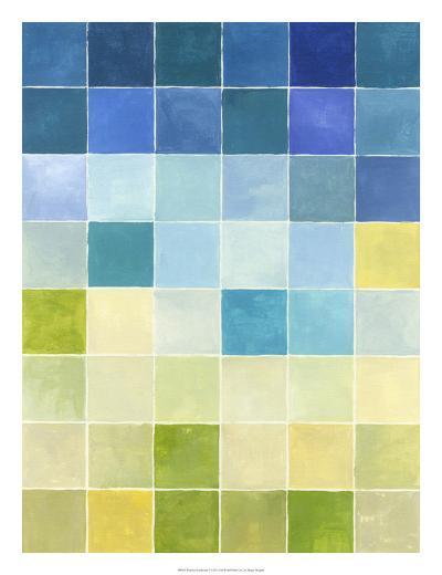 Pixilated Landscape I-Megan Meagher-Premium Giclee Print