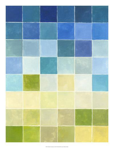 Pixilated Landscape II-Megan Meagher-Premium Giclee Print