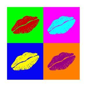 Warhol Lips by PiXXart