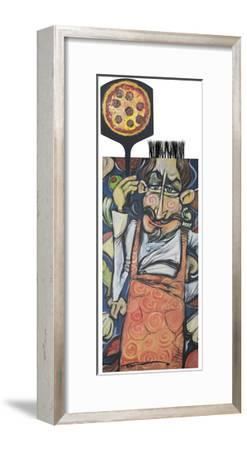 Pizza Chef 2-Tim Nyberg-Framed Giclee Print