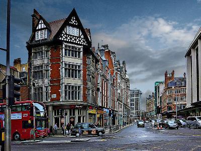 Pizza Hut Kensington, London-Anna Siena-Photographic Print