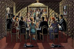 Late Supper, 2015 by PJ Crook