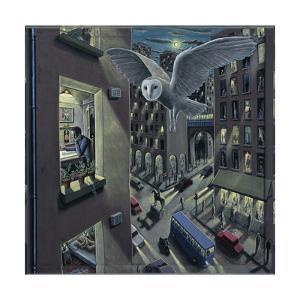 Night Owl, 2011 by PJ Crook