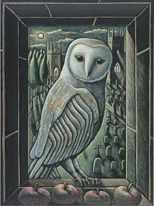 OWL BY MOONLIGHT, 2013 by PJ Crook