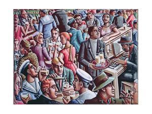 Piano Bar, 1998 by PJ Crook